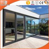 Идеальный просмотр тепловой Break алюминиевый раздвижной двери патио, двойное остекление окон и высокого качества стекла боковой сдвижной двери из алюминия