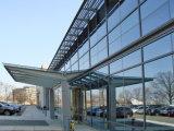 HandelsMorden, das Außenaluminiumrahmen-Glaszwischenwand aufbaut