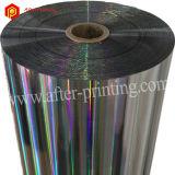 Holograma/laser/rolo de película holográfico para o empacotamento/impressão/laminação/o Presente-Envolvimento/etiquetas