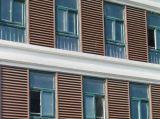 Guichet en aluminium d'auvent de qualité pour le climatiseur
