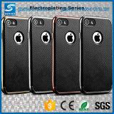 2017 PCS de vente de fibre de carbone TPU 2 dans le cas de couverture du téléphone 1cell pour Samsung A3 (2017) A5 (2017)