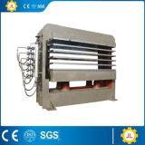500 T 15 capas de 4X8 de los pies de la madera contrachapada de la tarjeta de la máquina caliente de la prensa