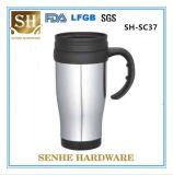 Arbeitsweg-Becher-Cup des Edelstahl-450ml mit Griff (SH-SC37)