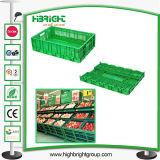 Caisse pliables en plastique pour les fruits et légumes !