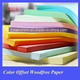 Colorear el papel de impresión en offset de Woodfree