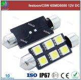 Super Bright feston/C5W, 6SMD5050, 12V DC