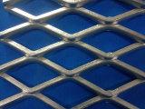 Folha expandida diamante do painel de engranzamento do fio do metal do aço de baixo carbono