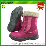 Nouveau mode d'arrivée du genou à chaud de hautes bottes pour les enfants Les enfants