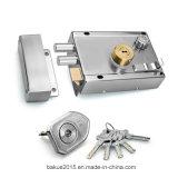Het Slot van de Rand van de Veiligheid van de deur met Dubbele Cilinder en Vijf Sleutels (ddLdS0010-SS)