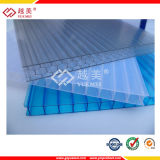 Dix ans de garantie protégé contre les UV panneau en plastique polycarbonate clair (YM-PC-011)
