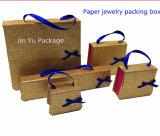Jy-Jb98 금 마분지 종이 선물 보석 귀걸이 상자 도매