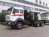 販売のための頑丈なトラック6*4 380HP Beibenのトラクターのトラック