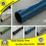 Tubulação de aço revestida plástica de China para o sistema de Logiform