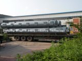 Jyngcの火力発電プラントで使用される給炭機の重量を量る高圧火力発電プラント