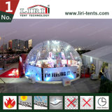 Structure de tente de globe d'innovation avec le revêtement en PVC et la porte Clair
