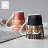 Creatieve Ontwerp van de Mok van het Embleem van het Bedrijf van de klant het Ceramische 12oz