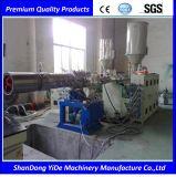 PE/PP/PV gewölbte Plastikrohr-Strangpresßling-Maschinen-Zeile