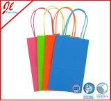 昇進の再使用可能なクラフト紙のショッピング・バッグ、ペーパーギフト袋