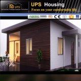 Casa prefabricada de acero del chalet de la luz fácil de la construcción con el diseño modular