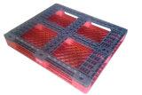 1200X1000 zoals & gebruikte RS Gerecycleerd Standaard Vlot Gezicht 4 van de Grootte de Versterkte Plastic Pallet van de Manier Ingang
