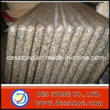 Encimera verde del proceso del borde de la encimera del granito con las encimeras Bullnose laminadas del granito (DES-C14)