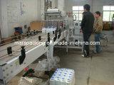 Machine d'emballage en papier rétrécissable pour des bouteilles avec la garniture