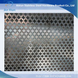 Metallo perforato con i tipi speciali, metallo perforato architettonico dell'acciaio inossidabile