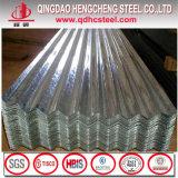 SGCCの熱いすくい電流を通された亜鉛金属の波形鉄板シート