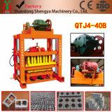 Blocchetto di collegamento del cemento del calcestruzzo Qtj4-40/cenere volatile che fa macchina per l'Africa
