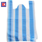 HDPE는 사탕에 의하여 분리된 재생한 t-셔츠 쇼핑 백을 착색했다