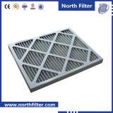 Plisado de cartón primer filtro de aire de proceso