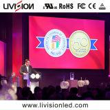 Location de l'événement de haute qualité a conduit l'écran vidéo de bord P3.9/4.8 Indoor LED pour la publicité d'affichage vidéo