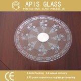 ANSI Z297 подкрашивал круг/круглую скошенную снятую кромку индивидуально Carton упакованное Tempered стекло