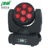 7 PC.S RGBW 4 in 1, 12W LEDs Beam Moving Head