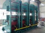 Moldura do vidro de originais de borracha da máquina de Qingdao que cura a máquina da imprensa para a folha de borracha