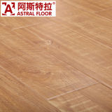 Cystyal diamante de superficie (Gran T-Groove) Negro nogal laminado suelo (AS6160A)