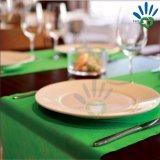 Corredor não tecido não tecido descartável Eco-Friendly da tabela da tabela Cloth/TNT de Spunbond do Polypropylene de 1m*1m feito em China