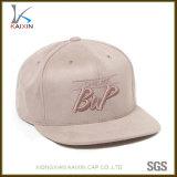 Le protezioni ed i cappelli su ordinazione di Snapback della pelle scamosciata schioccano indietro il cappello della protezione