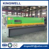 Máquina de corte da placa hidráulica da folha de metal do feixe do balanço QC12y-4X4000