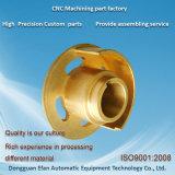 工場良質の高精度機械で造られた製粉CNCの黄銅の部品