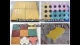 3-20 produit automatique de machine de bloc, fabrication de blocs concrets