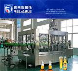 Máquina de envasado automático de la cerveza Cerveza de botella de vidrio Máquina de Llenado