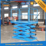 Levage hydraulique de ciseaux de Fixd avec 3m