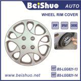 Coperchio d'argento dell'orlo della pelle delle protezioni di mozzo per la rotella dell'ABS dell'OEM