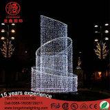 LED 3D 크리스마스 휴일 샘 주제 훈장 빛