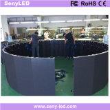 La Fundición curvo pantalla LED del panel de publicidad exterior interiores (P3.91mm/ P4.81mm)