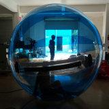 لون زرقاء مشية إنسانيّة على [وتر بلّوون] قابل للنفخ يمشي كرة