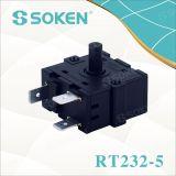 Commutateur rotatif électrique Gottak 250V 16A de chaufferette de pétrole de Soken