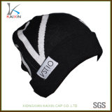 卸し売り人のための羊毛によって編まれるラベルのウールによって編まれる帽子の帽子