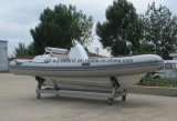Aqualand 16pies 4,7 millones inflables rígido Rib/barco de pesca en barco a motor (RIB470)